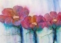 pinke blomster 100x80 rev